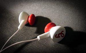 muziek oortjes prototype
