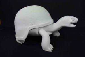 schildpad 3d print kunstobject