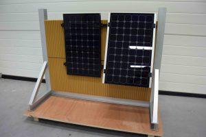 schaalmodel zonnepanelen