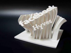 3d print tekst object