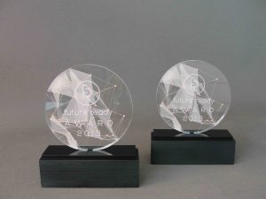 award trofee glas look