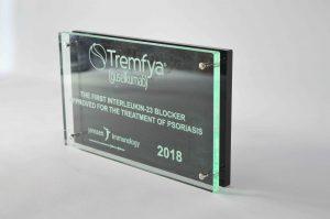 perspex award met gravure