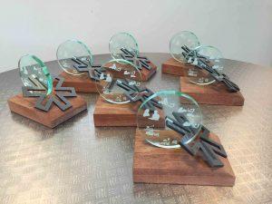 award lasersnijden hout en gravure