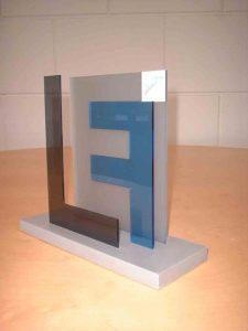 award plexiglas kleur