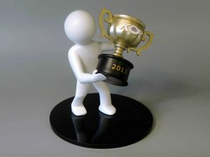 3d geprinte award