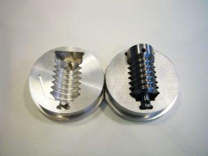 mal matrijs aluminium cnc frezen